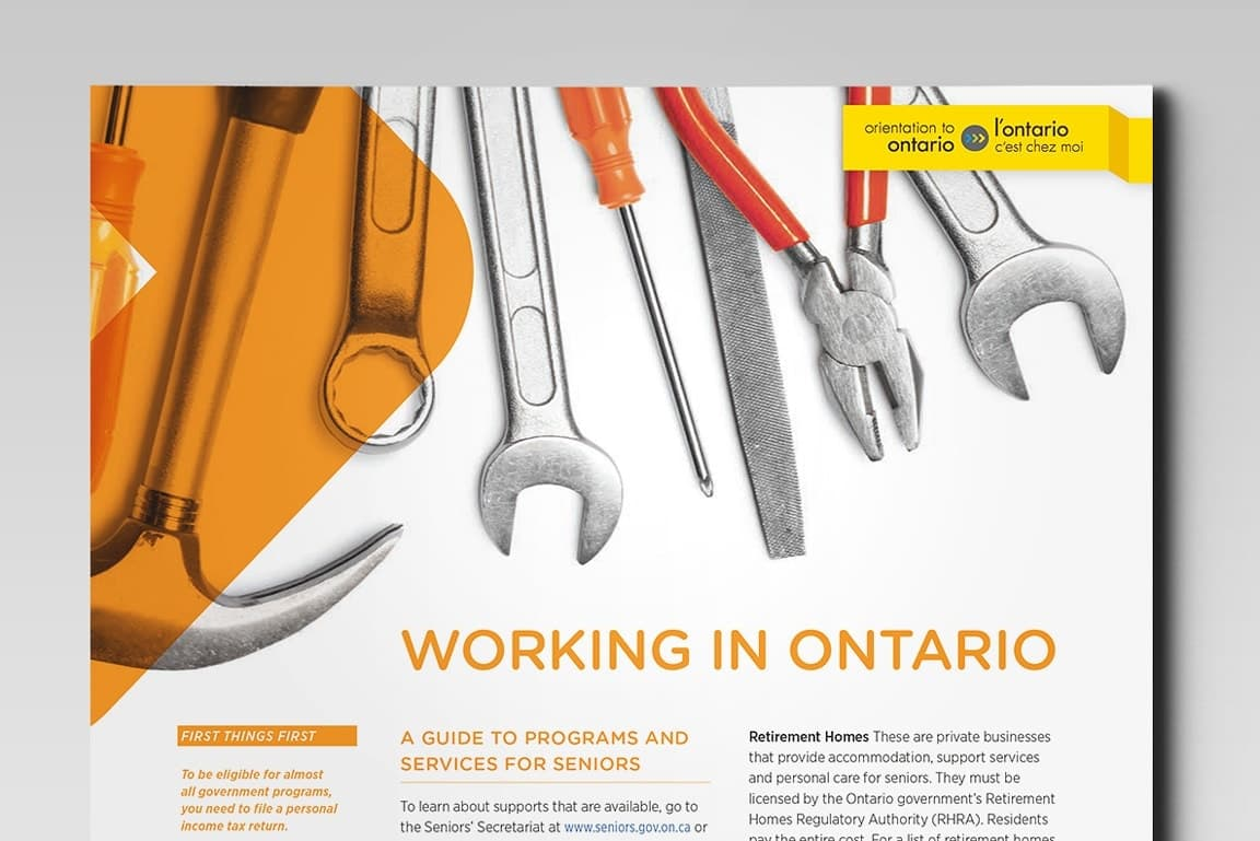 Working in Ontario fact-sheet